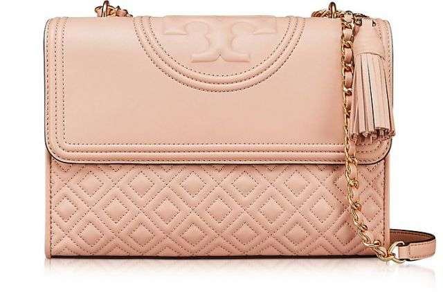 Tory Burch / トリー バーチ Fleming New Mink Leather Convertible Shoulder Bag - FORZIERI