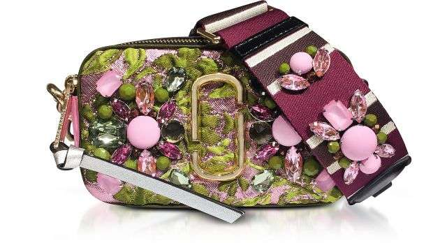 Marc Jacobs / マーク ジェイコブス Snapshot Floral Brocade Small Camera Bag - FORZIERI