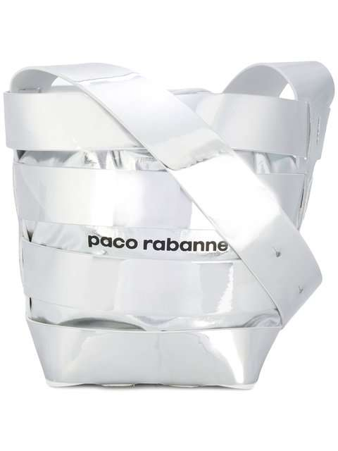 Paco Rabanne メタリック バケットバッグ 通販