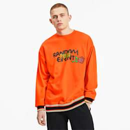 【PUMA公式】PUMA X RDET GRAPHIC CREW | Vermillion Orange | プーマ クルースウェット | プーマ