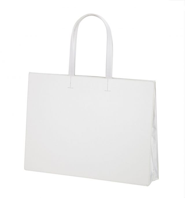 PATTA BAG A3 YOKO WHITE(PBA0903-W)