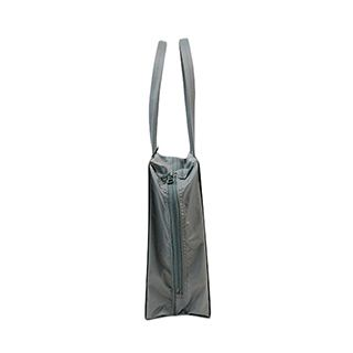 PATTA BAG A4 YOKO ZIPPER MAT SILVER(PBA1104-MS)