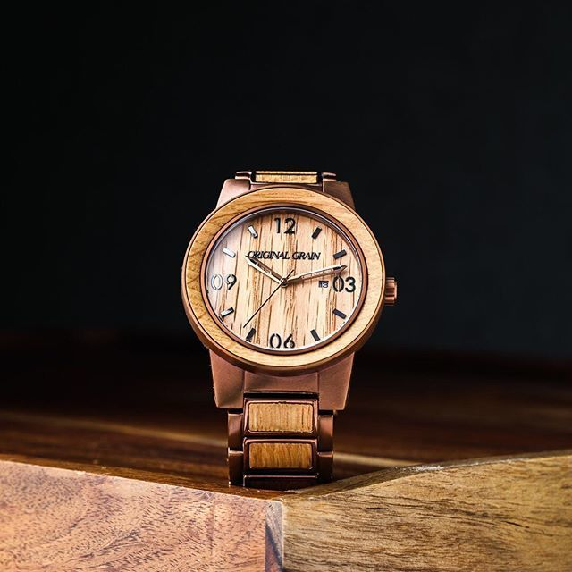 The Barrel 47mm - Whiskey/Espresso/Barrel/Wood ...