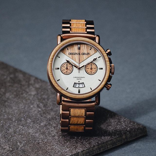 The Alterra Chronograph - WHISKEY (Whiskey/Espr...