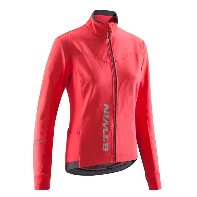 500 Women's Cycling Jacket - Diva Pink | DECATHLON (デカトロン)