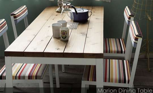 arenot|カフェ(北欧・モダン)Marion Dining Table(マリオン ダイニング テーブル)