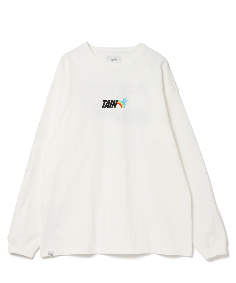 CAN'T DRINK ANYMORE LONG SLEEVE(TAIN DOUBLE PUSH)|TATRAS CONCEPT STORE タトラス公式通販サイト